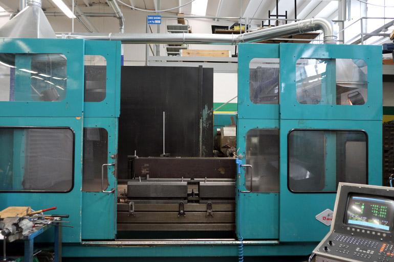 Fresatrice CNC OMV BPF3 con controllo Heidenhain